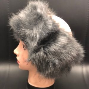 Grey Fur Headband